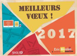 carte de voeux eric nicolas 2017