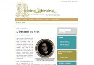 Site Histoires littéraires