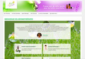 site web menthe et lavande