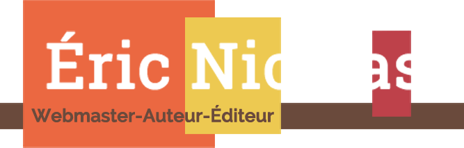 Éric Nicolas | Création de site internet | Auteur-Éditeur | Tarbes
