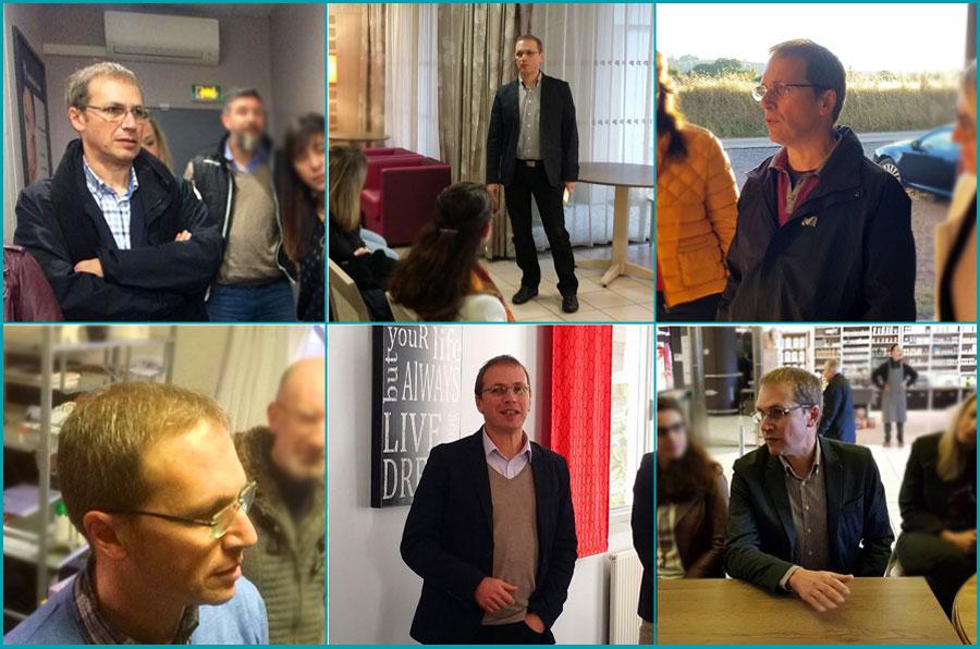 Éric Nicolas, webmaster,WordPress, participe aux Petits Dej'jpro 65