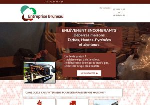 Site entreprise Bruneau